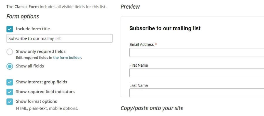 Так будет выглядеть ваша форма для регистраций.