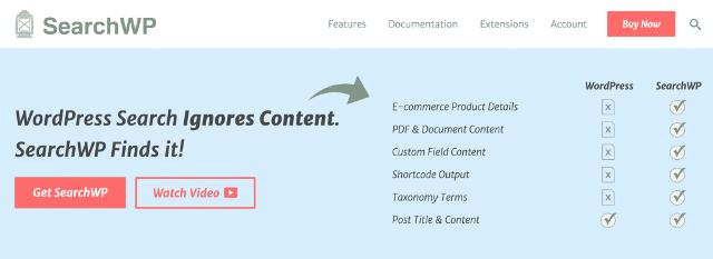 Лучшие поисковые плагины для WordPress